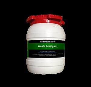 Medentotainer Amalgam Waste Container-Sm-Medentex-Dental Supplies
