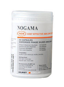 Nogama-Amalgam-50 pack-Silmet-Dental Supplies