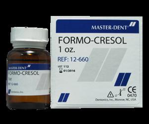 Formo Cresol  1oz  Master-Dent  Dental Supplies