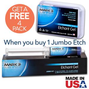 MARK3 Etch Gel 37 Phosphoric Acid Jumbo Pack